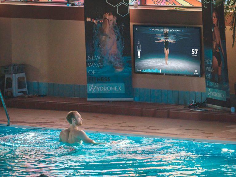 Social distancing at pool